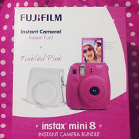 Fujifilm - Instax Mini 8 Instant Film Camera Bundle - Hot Pink uploaded by Astrid D.