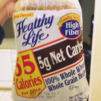 Healthy Life High Fiber 100% Whole Wheat Whole Grain Bread uploaded by Amanda R.