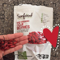 Sunfood Superfoods - Sun-dried Goji Berries Superfruit Snack - 8 oz. uploaded by Michelle P.