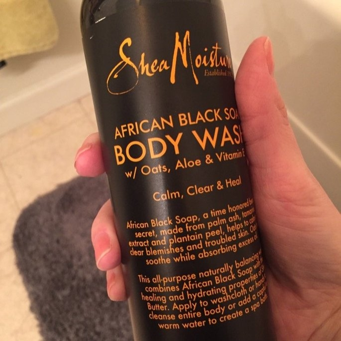 Shea Moisture Organic Argan Oil Raw Shea Body Scrub   uploaded by Catlin K.