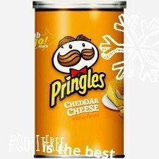 Pringles® Cheddar Cheese Lightly Salted Potato Crisps 5.5 oz. Canister uploaded by Stacy Michele S.