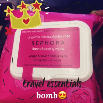 Photo of SEPHORA COLLECTION Cleansing & Exfoliating Wipes Rose 25 Wipes uploaded by Tamara D.