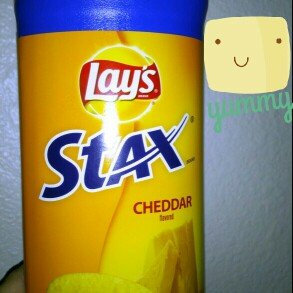 Photo of LAY'S® STAX® Cheddar Flavored Potato Crisps uploaded by heather M.