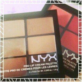 Nyx Cosmetics Pro Lip Cream Palette uploaded by Taylor B.