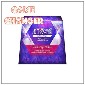 Advanced Seal Crest 3D White Luxe Whitestrips Glamorous White - Teeth Whitening Kit 14 Treatments uploaded by Sarah N.