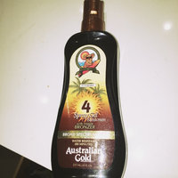 Australian Gold Spray Gel with Instant Bronzer SPF 4 uploaded by Andrea S.