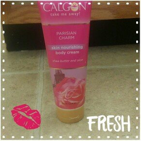 Photo of Calgon Take Me Away Calgon Parisian Charm Shea Enriched Body Cream, 8 oz uploaded by Alisha H.