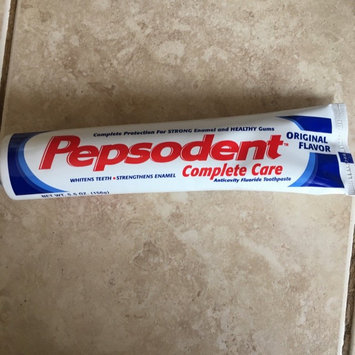 Photo of Pepsodent® Complete Care Original Flavor Toothpaste 5.5 oz. Box uploaded by Esmeralda L.