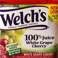 Welch's® White Grape Cherry 100% Juice 64 fl. oz. Plastic Bottle uploaded by Kelsey H.