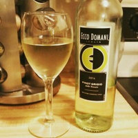 Ecco Domani Pinot Grigio 2013 uploaded by Crystal  H.