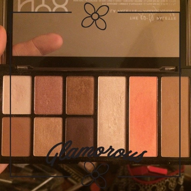NYX Cosmetics Go-To Palette uploaded by Erin H.