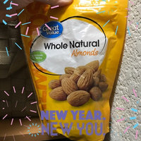 Great Value Whole Natural Almonds, 14 oz uploaded by Cenon M.