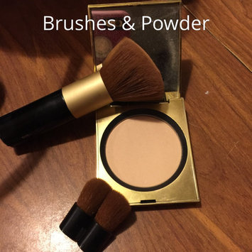 Photo of Elizabeth Arden Face Powder Brush with Folding Mini Face Brush uploaded by Jamie E.