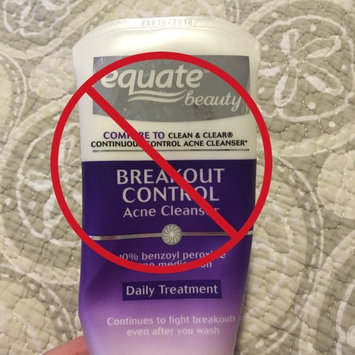Photo of Equate Beauty Breakout Control Acne Cleanser uploaded by Hayley F.