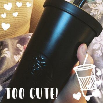 Photo of Stainless Steel Tumbler - Matte Black, 16 fl oz Starbucks Drinkware uploaded by Rachel H.