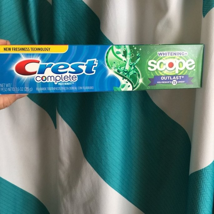 Crest Toothpaste uploaded by Cassey T.