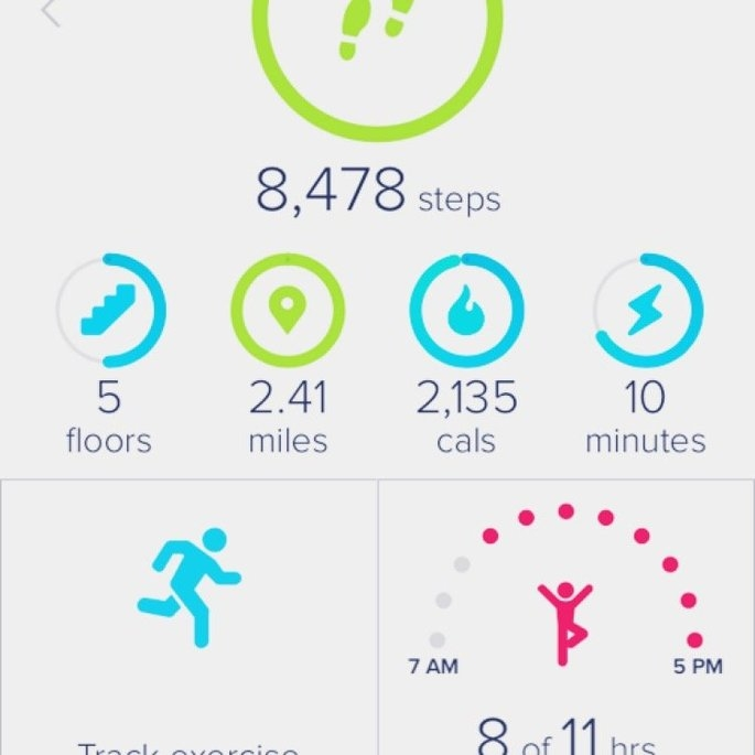 Fitbit uploaded by Jodie M.