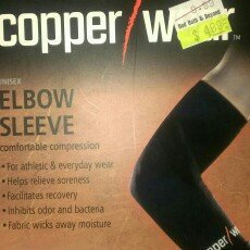 Photo of Copper Wear Compression Elbow Sleeve, Extra Large [Extra Large] uploaded by Jessica C.