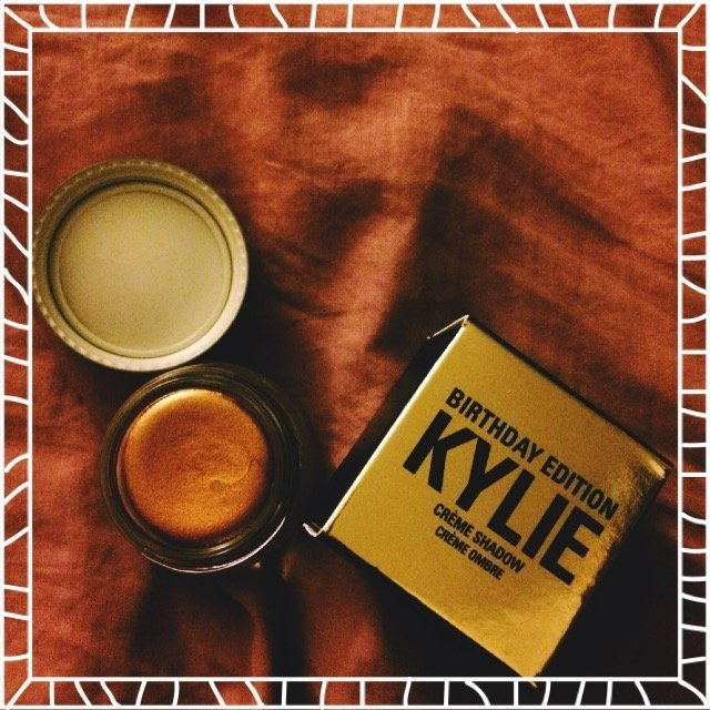 Kylie Cosmetics Birthday Edition Copper Creme Shadow uploaded by Jessica M.