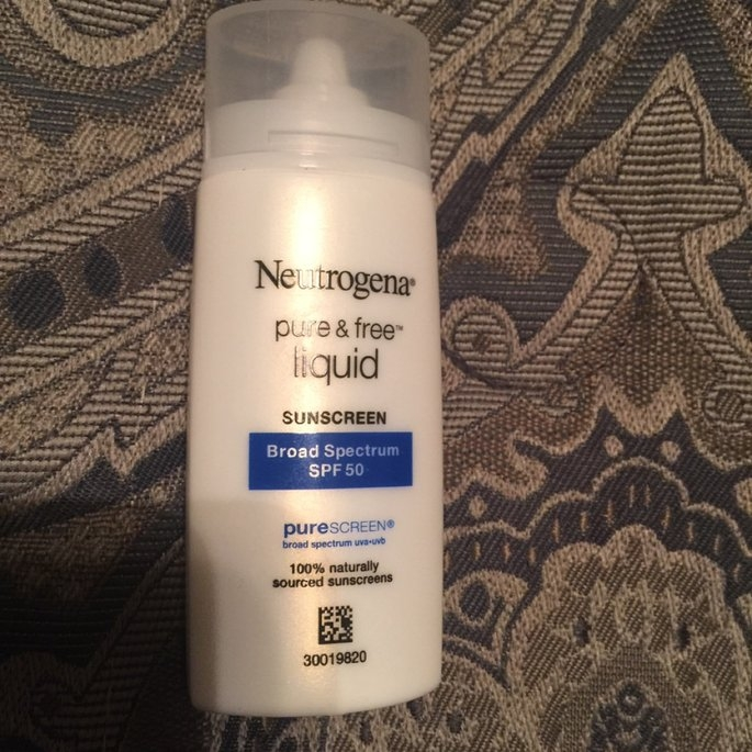 Neutrogena Pure & Free Liquid Daily Sunscreen uploaded by Jasmine T.