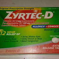 Zyrtec-D Allergy & Congestion uploaded by Alex S.