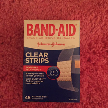 Photo of Band-Aid® Brand Adhesive Bandages Flexible Fabric Band Aids 100 ct. Box uploaded by Miranda F.