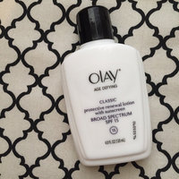 Olay Age Defying Classic Protective Renewal Lotion with Sunscreen Broad Spectrum SPF 15 uploaded by Morgan M.