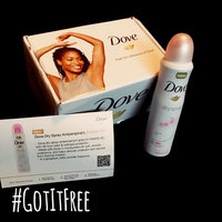 Dove® Powder Soft Dry Spray Antiperspirant Deodorant uploaded by Justice H.