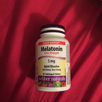 Webber Naturals Melatonin 5mg, Tablets, 100 ea uploaded by Jas D.