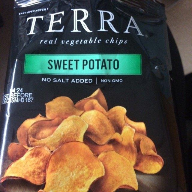 TERRA Sweet Potato, No Salt Added, 1.2 ounce (Pack of 24) uploaded by Linda R.
