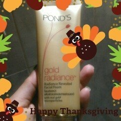 Pond's Gold Radiance Facial Foam 100g [Revealed Facial Foam 100g.] uploaded by Ahilebsis C.