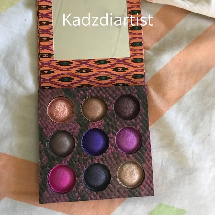 BH Cosmetics Wild at Heart Baked Eyeshadow Palette uploaded by Kadene R.