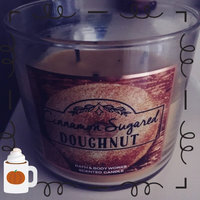 Bath & Body Works Cinnamon Sugared Doughnut 3 Wick Candle 14.5 Ounce 2014 Sweet Shop Collection uploaded by Chelsie H.