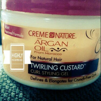 Creme of Nature with Argan Oil Twirling Custard uploaded by Devondra B.