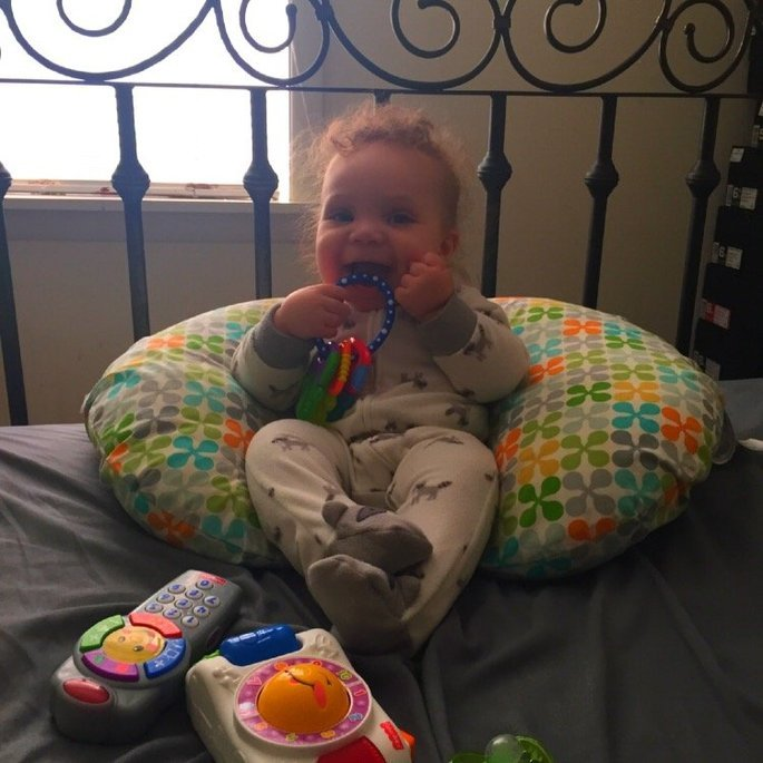 Boppy Pillow Slipcover, Classic Gumdrops uploaded by Nichelle T.