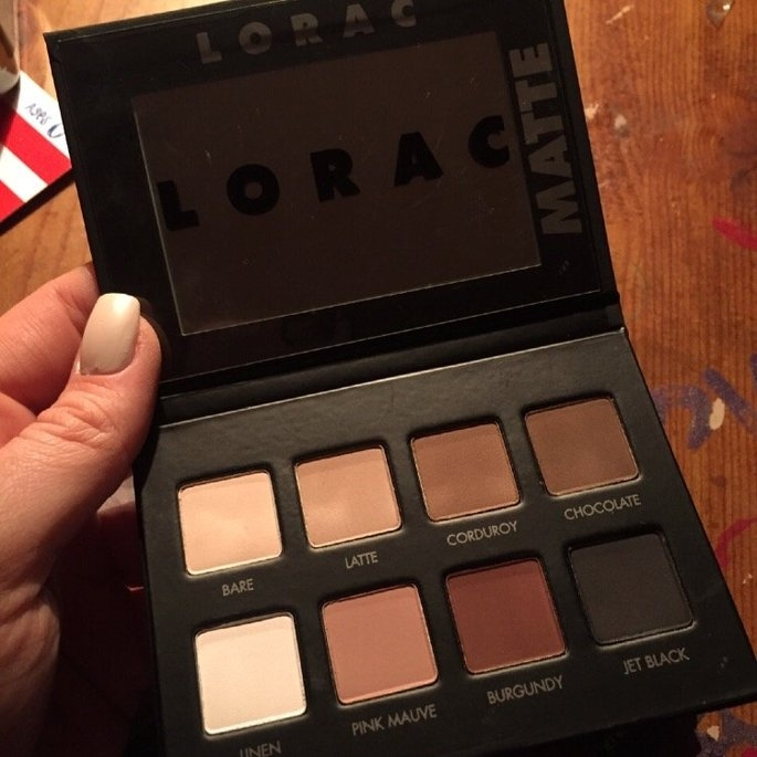 LORAC PRO Matte Eye Shadow Palette (Chocolate/Red/Latte) uploaded by Jordan N.