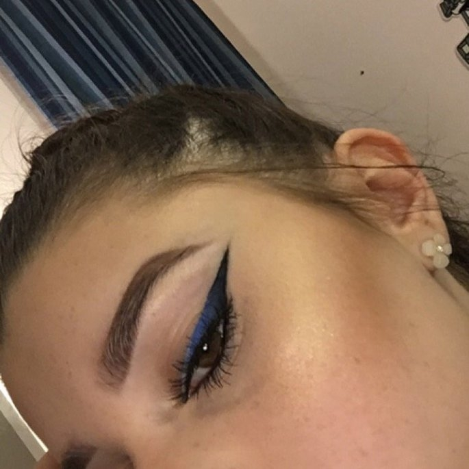 Wet 'n' Wild Wet n Wild MegaLiner Liquid Eyeliner, Voltage Blue, .12 oz uploaded by Payton B.