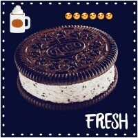Oreo Double Stuf Chocolate Creme uploaded by Esther P.