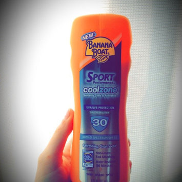 Photo of Banana Boat Sport Performance Clear UltraMist Coolzone Sunscreen Spray With SPF 50+ uploaded by Kathryn J.
