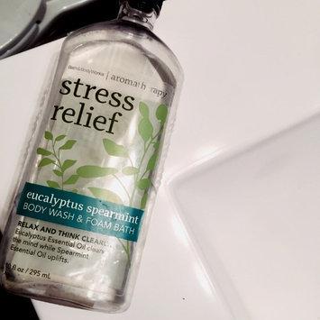 Photo of Bath & Body Works Aromatherapy Stress Relief Eucalyptus Spearmint Body Wash & Foam Bath uploaded by Karly J.