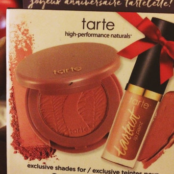 Photo of tarte How Sweet It is Deluxe Lip and Cheek Set uploaded by LaToya E.