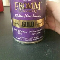 Fromm Gold Duck/Chicken Can Dog Food Case of 12 uploaded by Jasmin B.