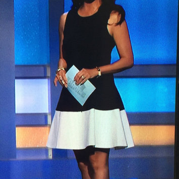 Photo of Sweet Stripe Contrast Ponte Dress uploaded by Kathleen F.