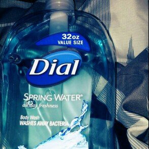 Photo of Dial Spring Water Antibacterial Body Wash uploaded by Shannel G.