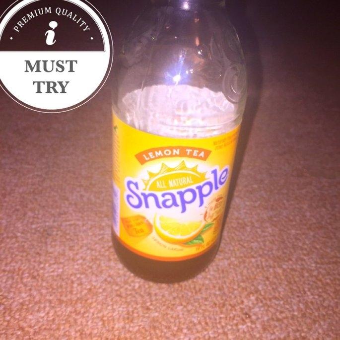 Snapple Lemon Tea 16oz uploaded by kayla n.