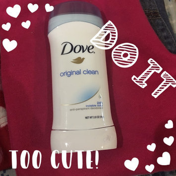 Dove® Original Clean Antiperspirant & Deodorant uploaded by Carla E.