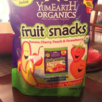 Yummy Earth Organic Fruit Snacks, Banana, Cherry, Peach & Strawberry uploaded by Melissa G.