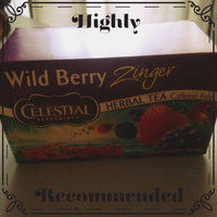 Celestial Seasonings® Wild Berry Zinger Herbal Tea Caffeine Free uploaded by Emerlyn P.