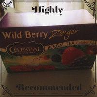 Celestial Seasonings Caffeine Free Herbal Tea Wild Berry Zinger uploaded by Emerlyn P.