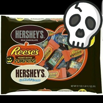 Hershey's Halloween Assorted Candy, 55 count uploaded by Jaime H.